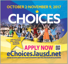 LATE Magnet application is available at apply.lausd.net