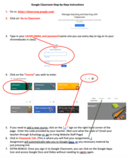 How to log in to Google Classroom